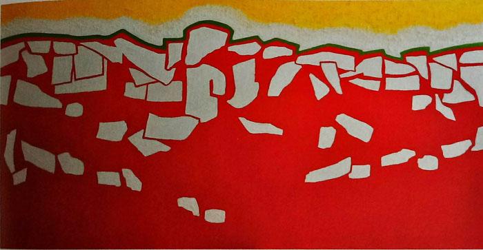 순수와 열정 - 최이숙 Mixed media on canvas 194cm x 97cm-01.jpg