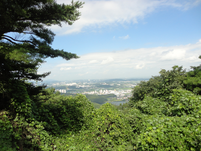 성거산에서 보이는 천안시.JPG