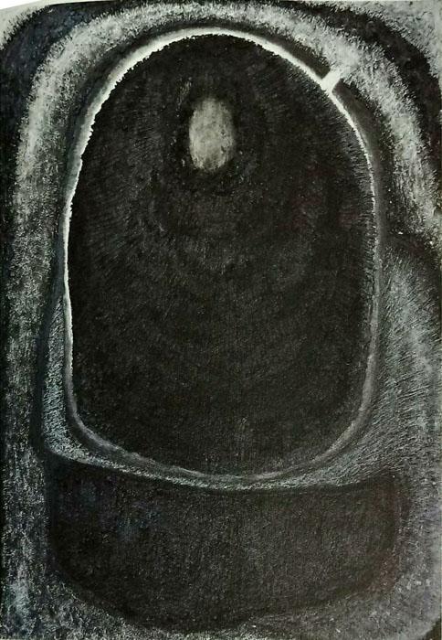 엄마의 가슴 속 - 최이숙 Mixed media on canvas 98cm x 130cm-01.jpg
